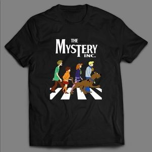 SCOOBY DOO ABBEY ROAD PARODY QUALITY SHIRT 🔥🔥🔥
